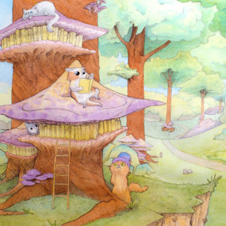 cats-library-on-the-forest-liloo-illustration