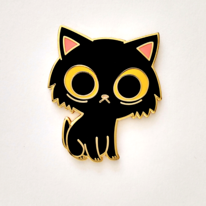 Black kitty pin for sale