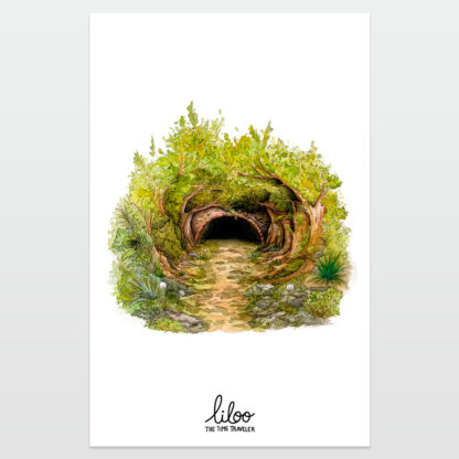 Entrada, poster - liloo illustration
